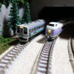 中央本線の列車たち@鐡ノ家レイアウト