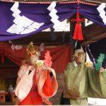 山梨岡神社の太々神楽(だいだいかぐら)